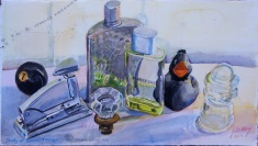 Study of Seven somewhat similar items