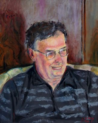 Frank Stack, Retired Painting Professor and sometime mentor, University of Missouri, 2002