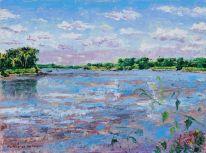 Missouri River in Summer