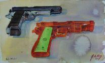 Llama .45 ACP and squirt gun