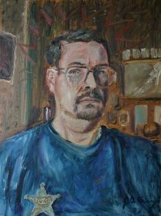 Self Portrait, Marshall, Missouri, 1997