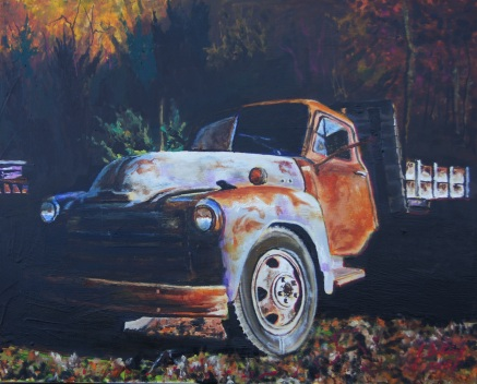 Heavy Chevy in oil