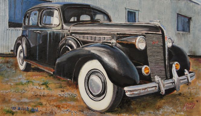1937 Buick Limited, Sweet Springs, Mo.