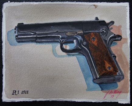 1911 .45 caliber Remington