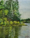 Little Dixie. Good fishing place and nice area to go boating, and painting.
